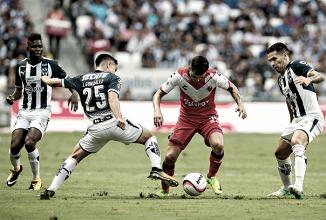 Resultado y goles del Veracruz 0-2 Monterrey en Liga MX 2018
