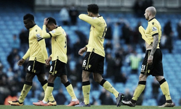 Aston Villa relegated from the Barclays Premier League