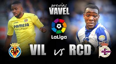 Previa Villarreal - Deportivo: Europa contra permanencia