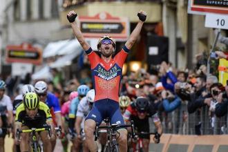 """Milano-Sanremo, Nibali incredulo: """"Non so come ho fatto"""""""