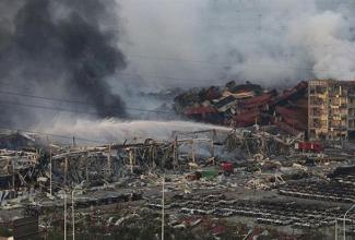 Las explosiones de Tianjin dejan a su paso 112 fallecidos y decenas de desaparecidos