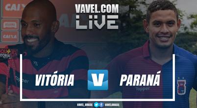 Resultado e gol de Vitória x Paraná pelo Campeonato Brasileiro 2018 (1-0)
