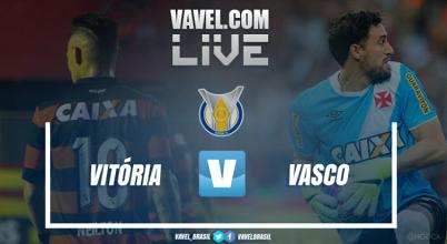 Resultado Vitória x Vasco pelo Campeonato Brasileiro (1-4)