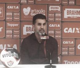 """Vagner Mancini destaca atuação do Vitória em goleada: """"Acima do esperado"""""""