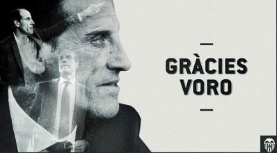 Voro dice su quinto adiós al Valencia CF