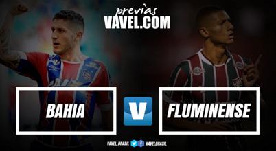 Com desfalques, Bahia e Fluminense se enfrentam com objetivos diferentes