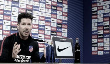 """Simeone: """"Nos vamos a enfrentar al mejor equipo del mundo"""""""