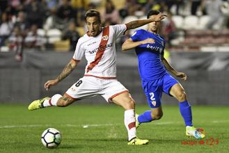 Óscar Trejo, 'MVP' del Rayo Vallecano - Almería
