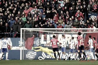 Cristian Álvarez, el mejor frente al Osasuna según la afición