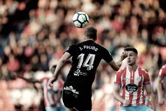Pulido, el mejor jugador frente al Lugo