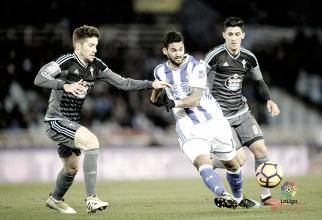 Real Sociedad - Celta de Vigo: puntuaciones del Celta, jornada 19 de La Liga