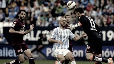 La victoria del Málaga supondría igualar los resultados históricos conseguidos ante el Deportivo