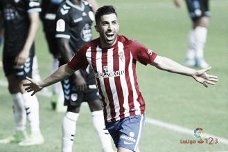 """Santosestá """"muy contento"""" en el Sporting"""