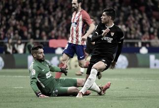 At. de Madrid - Sevilla FC: puntuaciones del Sevilla, ida de los cuartos de la Copa del Rey