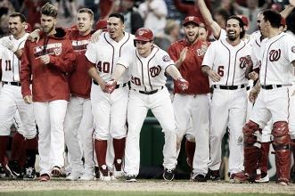 Algo más de 50 partidos en la Liga Nacional de la MLB