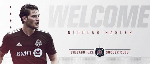 Nicolas Hasler jugará en Chicago Fire