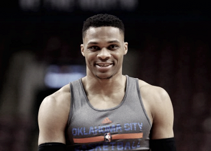 Russell Westbrook sets another NBA record with triple-double over Philadelphia 76ers