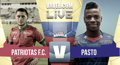 Resumen Deportivo Pasto 5-0 Patriotas en Liga Águila 2017