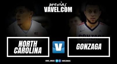 North Carolina eGonzaga decidem título nacional do basquete universitário