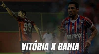 Resultado Vitória x Bahia na semifinal da Copa do Nordeste (2-1)