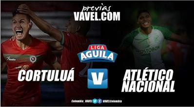 Previa Cortuluá - Atlético Nacional: El local a conseguir una victoria que lo aleje del descenso