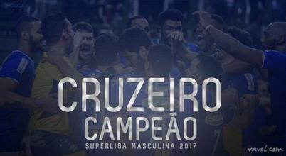 É penta! Cruzeiro vence Taubaté e conquista Superliga Masculina pela quinta vez