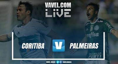 Resultado Coritiba x Palmeiras pelo Campeonato Brasileiro (1-0)
