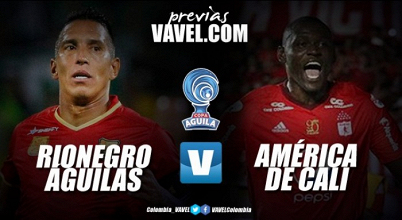 Rionegro vs América por octavos de final de Copa Águila (0-0)