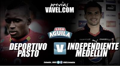Previa Deportivo Pasto vs Independiente Medellín: a consolidar el fortín 'tricolor' frente al arrollador 'poderoso'