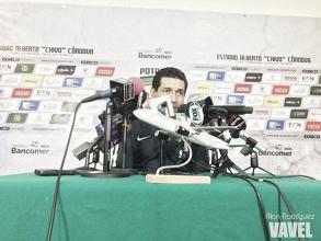 """Álvaro Galindo: """"Es importante sacar este tipo de partidos adelante"""""""