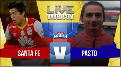 Resultado Santa Fe 1-0 Deportivo Pasto por la Liga Águila 2017
