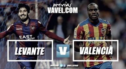 Previa Levante - Valencia: Llega el derbi Valenciano al Ciutat de Valencia