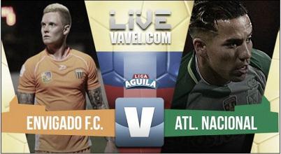 Envigado vs Atlético Nacional en vivo y en directo online por la Liga Águila 2017 (0-0)