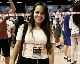 Repórter faz história e será a primeira mulher a narrar partida de futebol em Minas Gerais