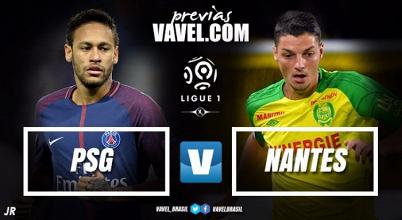 Com retorno de Neymar, PSG recebe Nantes mirando ampliar vantagem na liderança