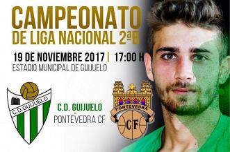 Previa. CD Guijuelo - Pontevedra CF: duelo en la zona baja