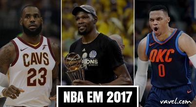 NBA em 2017: trocas inesperadas, revanche dos Warriors e a volta por cima de Durant