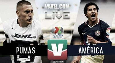 Partido de Pumas vs América en Liga MX 2018 (0-0)