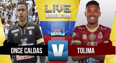 Deportes Tolima logra una victoria fundamental en Manizales y se mete en el grupo de los ocho
