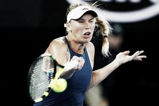 Wozniacki supera Suarez Navarro e garante vaga na semifinal do Australian Open