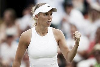 WTA Rogers Cup: Caroline Wozniacki races into round two