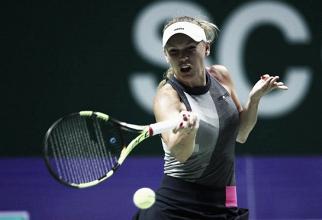 Wozniacki sorprende a Svitolina