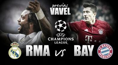Previa Real Madrid CF - FC Bayern Múnich: por el boleto a semifinales