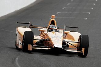 Fernando Alonso 'aprueba' su test de contacto con las 500 millas de Indianápolis