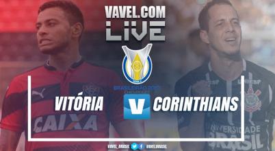 Resultado Vitória x Corinthians no Campeonato Brasileiro 2017 (0-1)