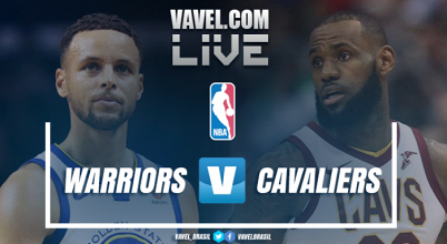 Jogo Golden State Warriors x Cleveland Cavaliers ao vivo online na NBA 2017/18