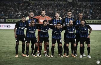 Inter, segnali positivi contro il Lione: è 1-0 nel segno di Jovetic