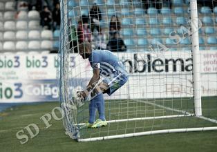 Yuri, goleador centenario con la SD Ponferradina