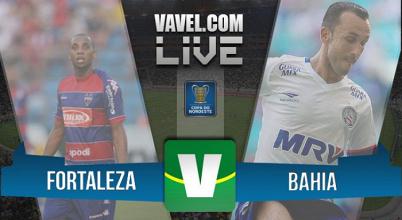 Resultado Fortaleza x Bahia na Copa do Nordeste 2016 (1-2)