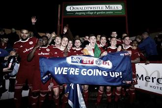 El Accrington Stanley, nuevo equipo de la League One